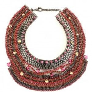 Iosselliani Chrystal Bib Necklace